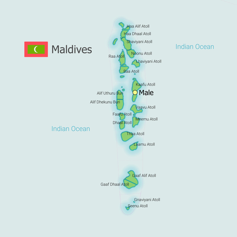 Ou Se Trouvent Les Maldives Geographie Des Iles