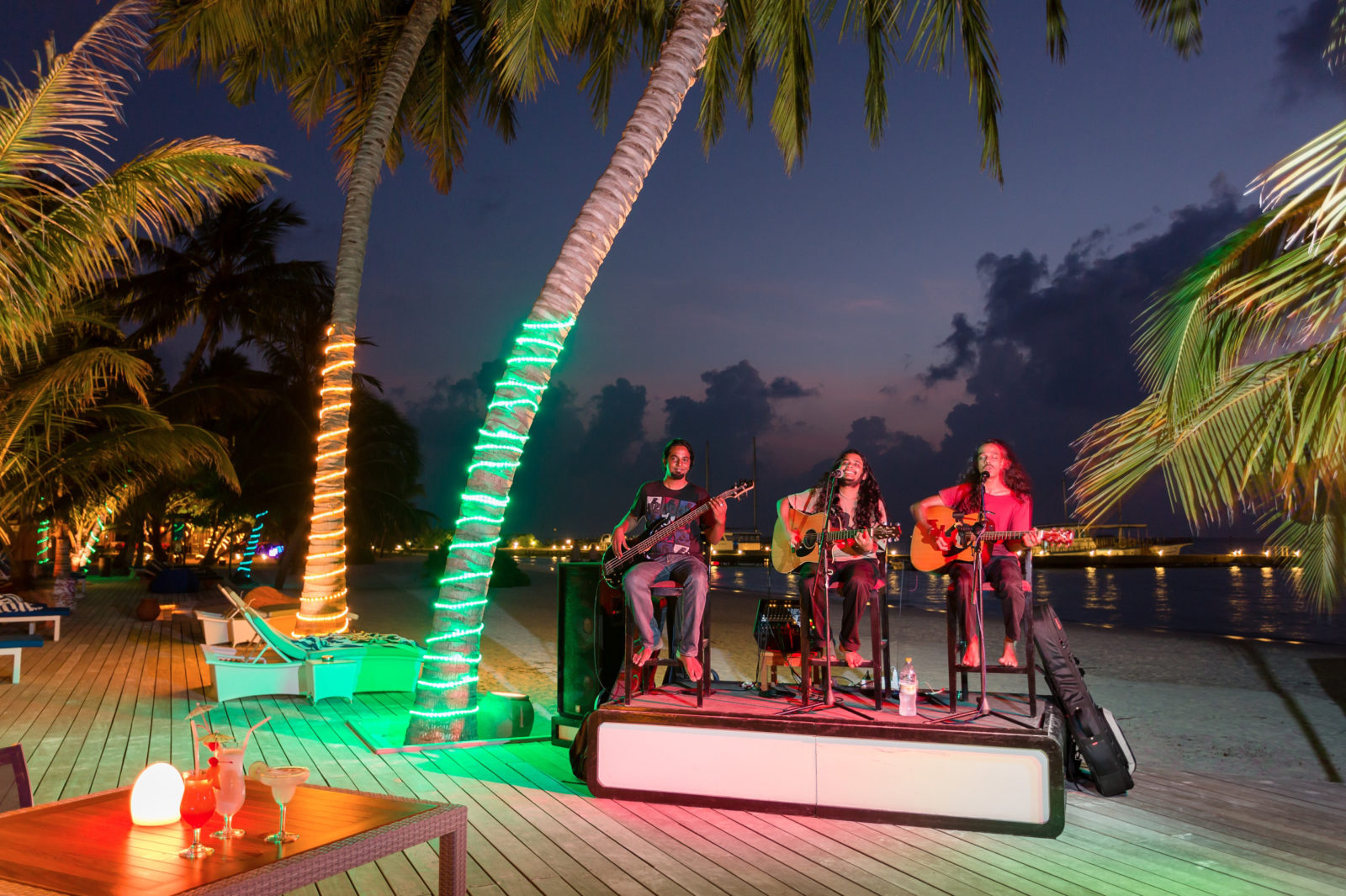 Evening concert for vacationers