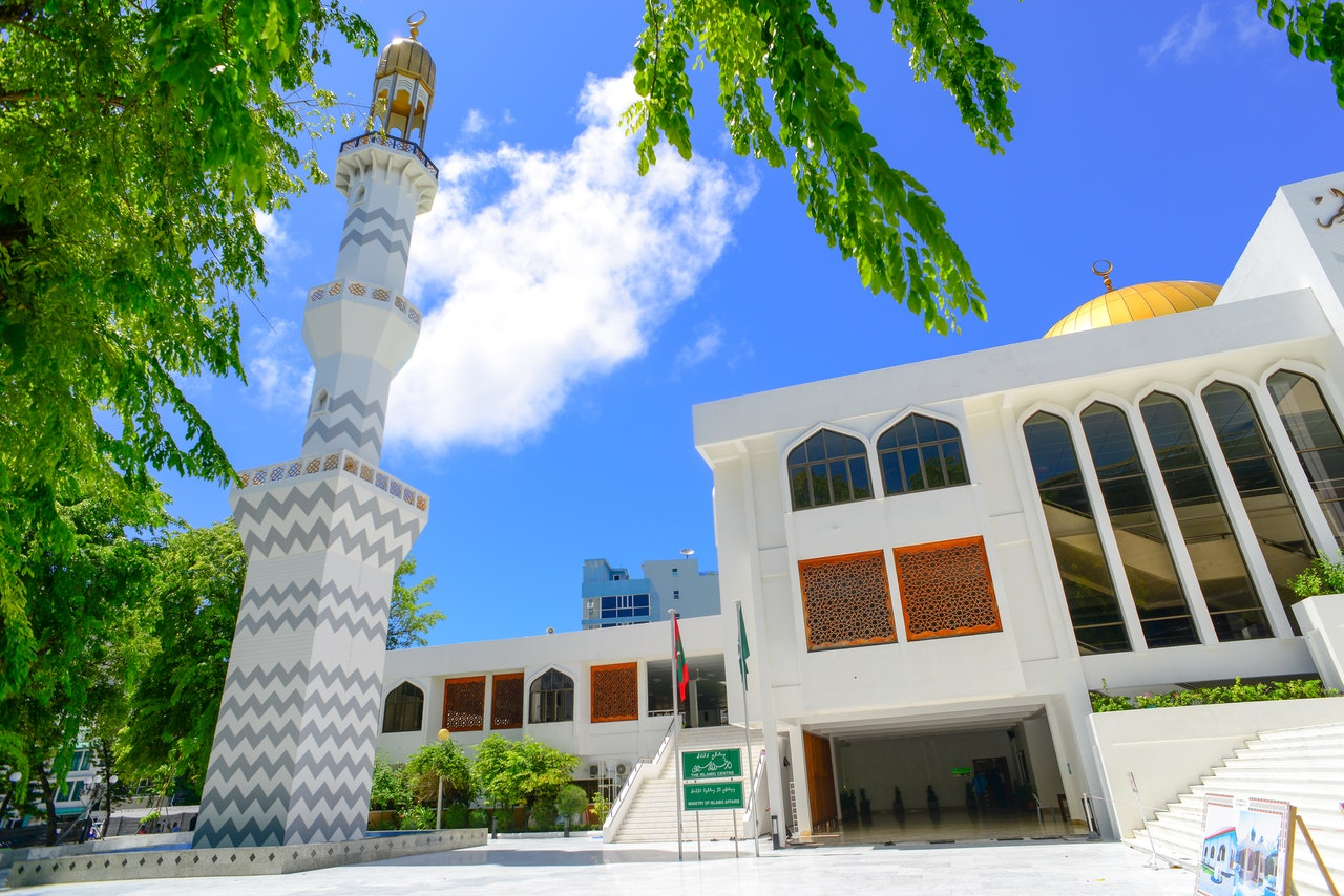 The Grand Friday Mosque and Islamic Center in Male