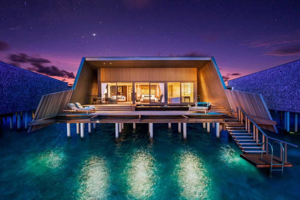 Самые дорогие отели на Мальдивах