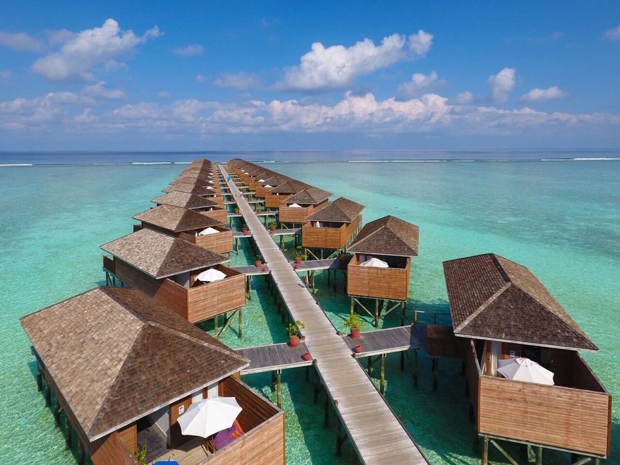 Самые большие отели Мальдив: 8 островов