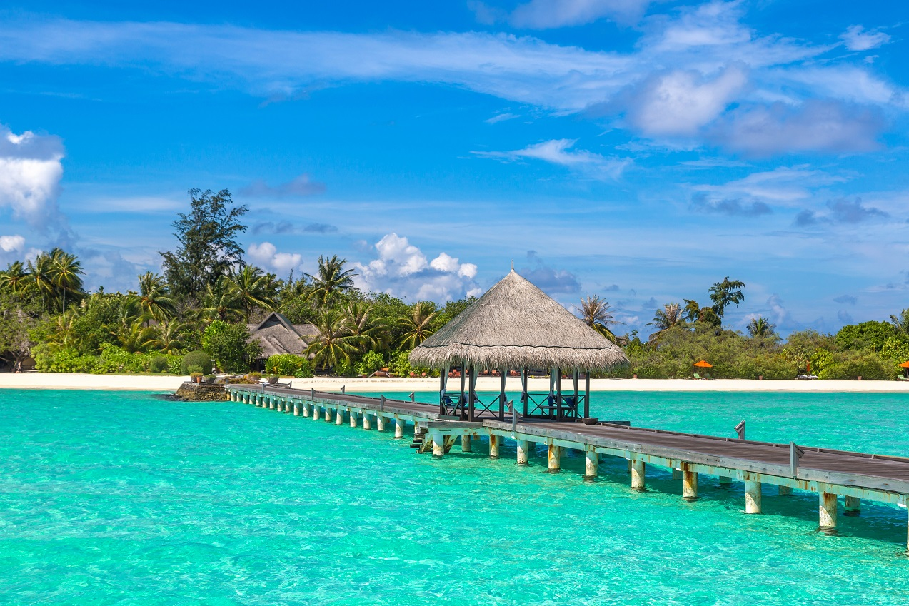 July 15, 2020 Maldives received first 100 tourists