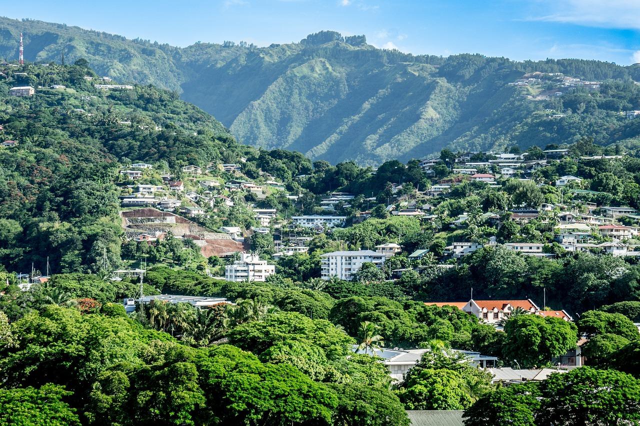 Папеэте - столица Французской Полинезии